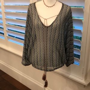 Tops - Multi colored knitted top